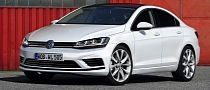 Volkswagen Golf CC Rendered, Coming in 2015