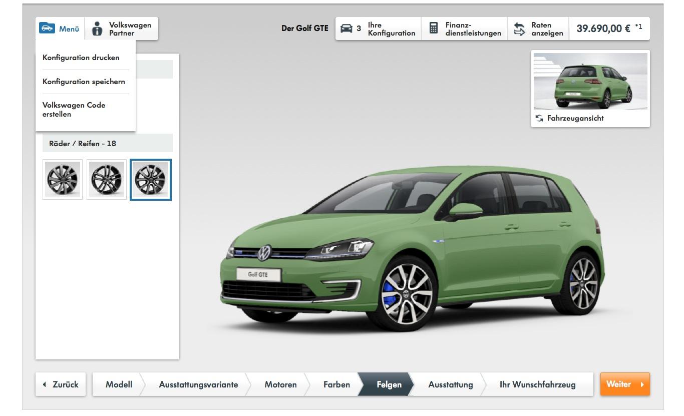 Volkswagen Golf GTE Goes on Sale from 36,900 Euros: Hybrid
