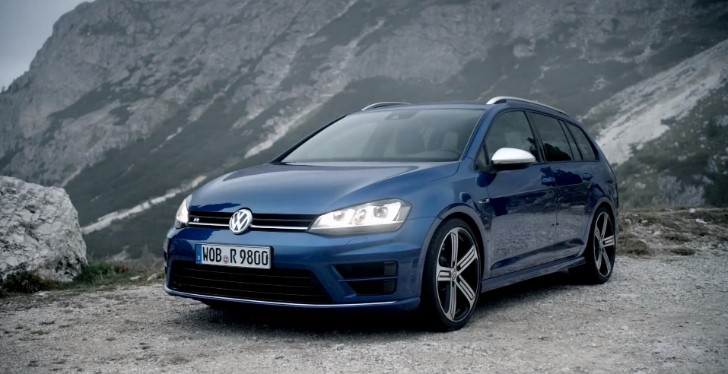 300 Hp Volkswagen Golf R Variant Makes Video Debut It S A