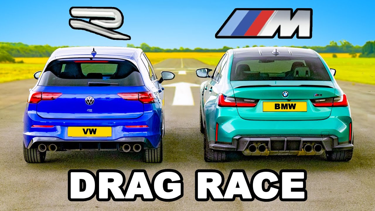 Volkswagen Golf R Vs BMW M3 Competitors Drag Race. Certainly, It Cannot. Can It?