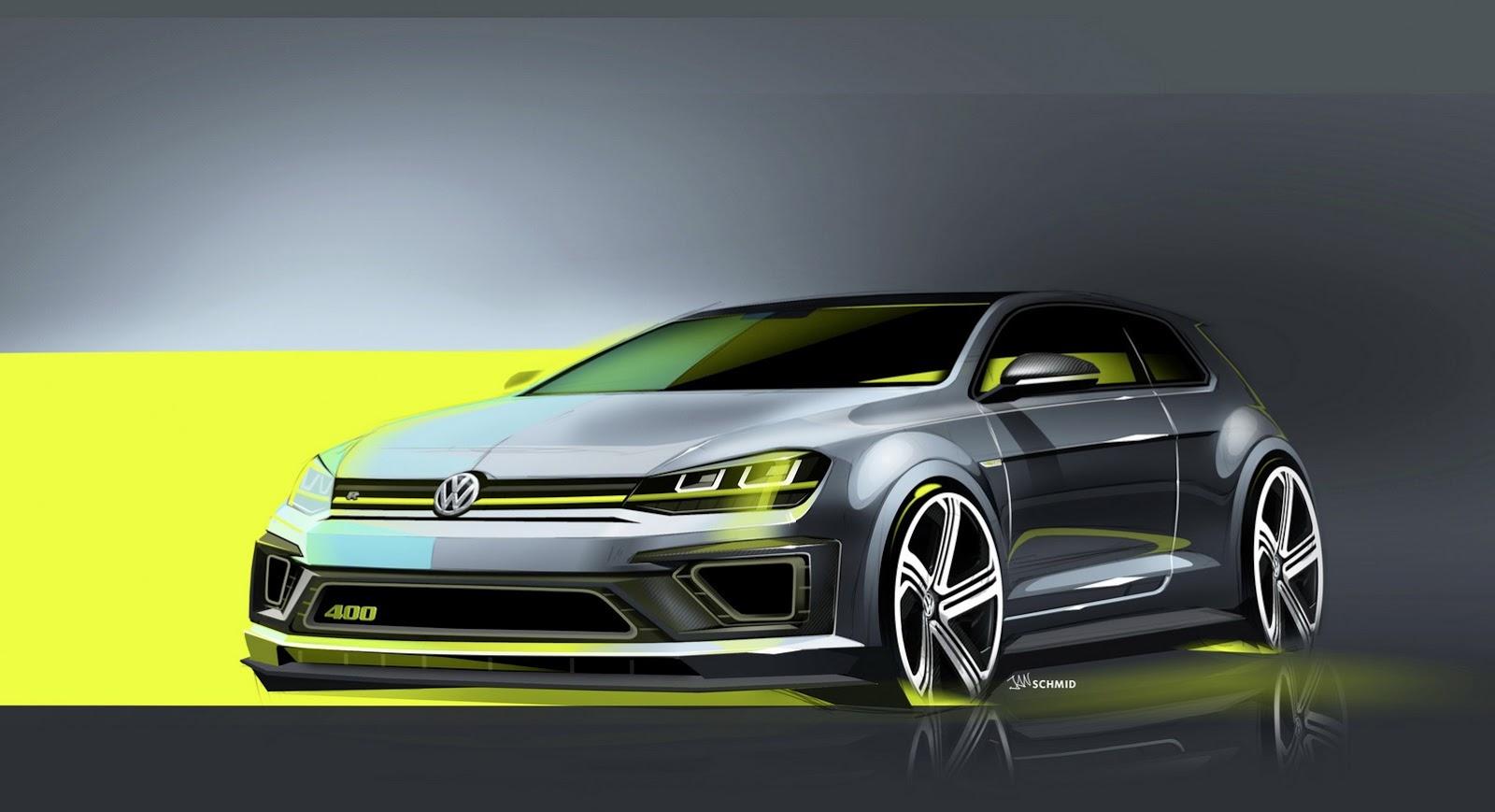 volkswagen golf r with 400 hp to make debut in beijing autoevolution. Black Bedroom Furniture Sets. Home Design Ideas