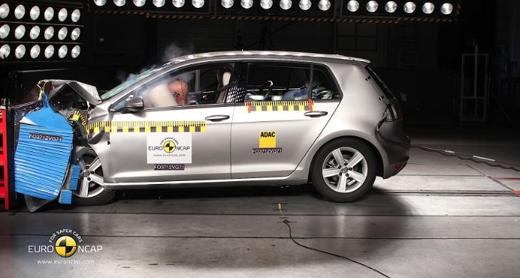 Volkswagen Golf VII Awarded 5-Star Euro NCAP Rating [Video]