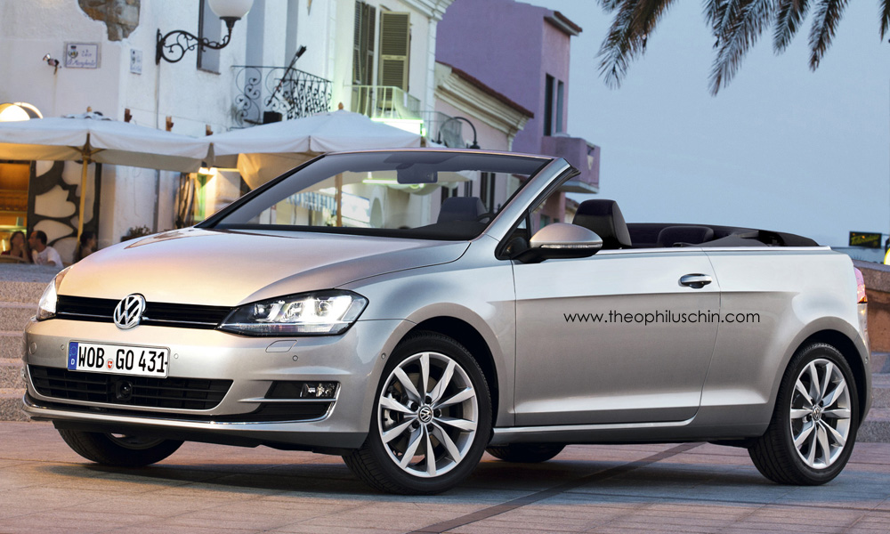 volkswagen golf vii cabriolet autoevolution. Black Bedroom Furniture Sets. Home Design Ideas