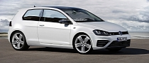 Volkswagen Golf VII R Rendered