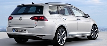 Volkswagen Golf VII Estate / Variant Rendering