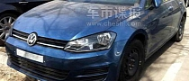 Volkswagen Golf VII Spotted Testing in China