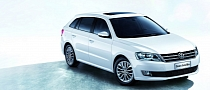 Volkswagen Gran Lavida Revealed in Shaghai