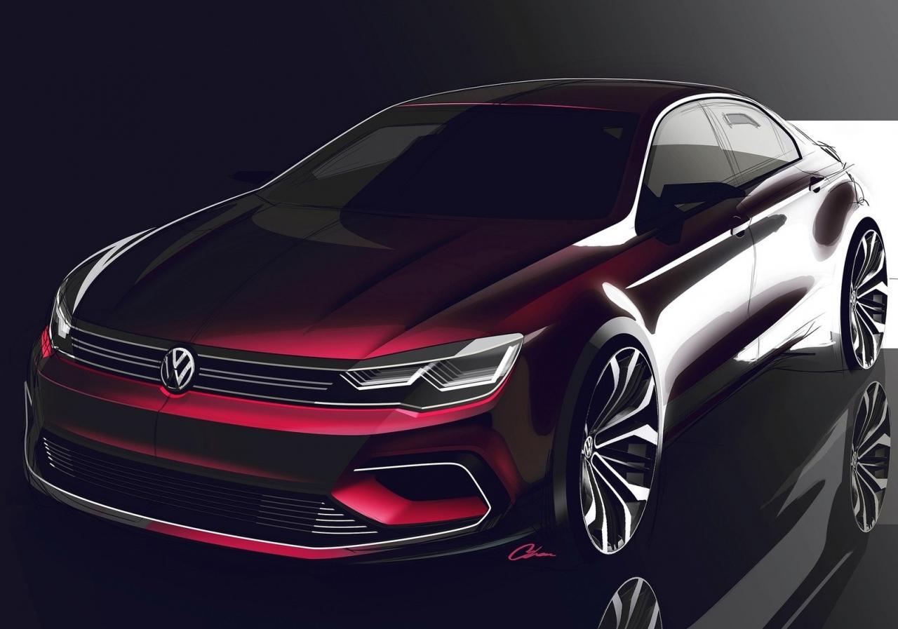volkswagen jetta cc will enter production in 2016 autoevolution. Black Bedroom Furniture Sets. Home Design Ideas