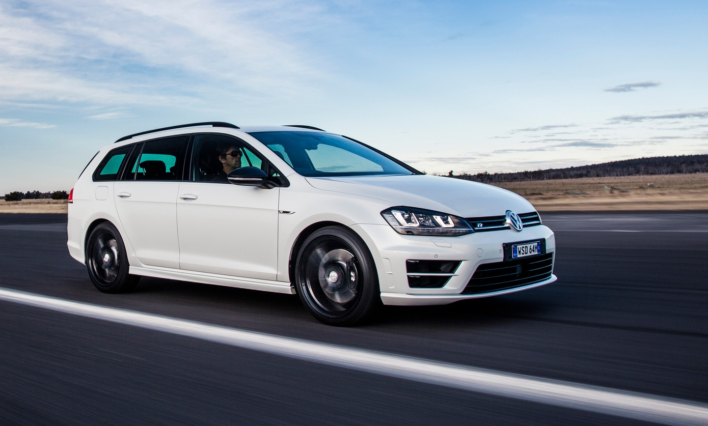 Versatility + Fun: Volkswagen Golf R SportWagen