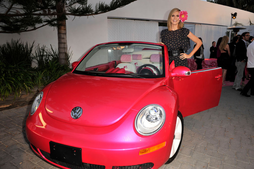 Volkswagen Made Pink Beetle for Barbie's 50th Birthday ...