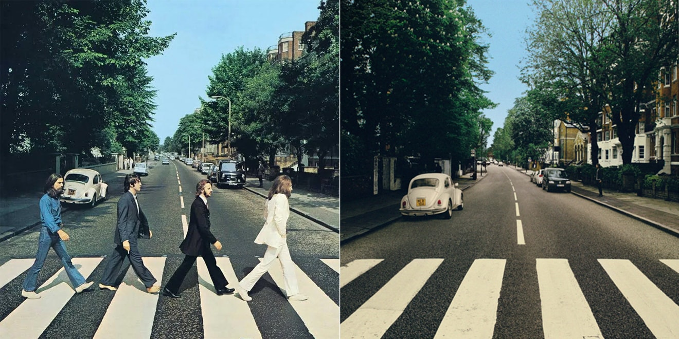 Vw Moves Beetle Removes The Beatles From Abbey Road Cover Reparked Edition Autoevolution
