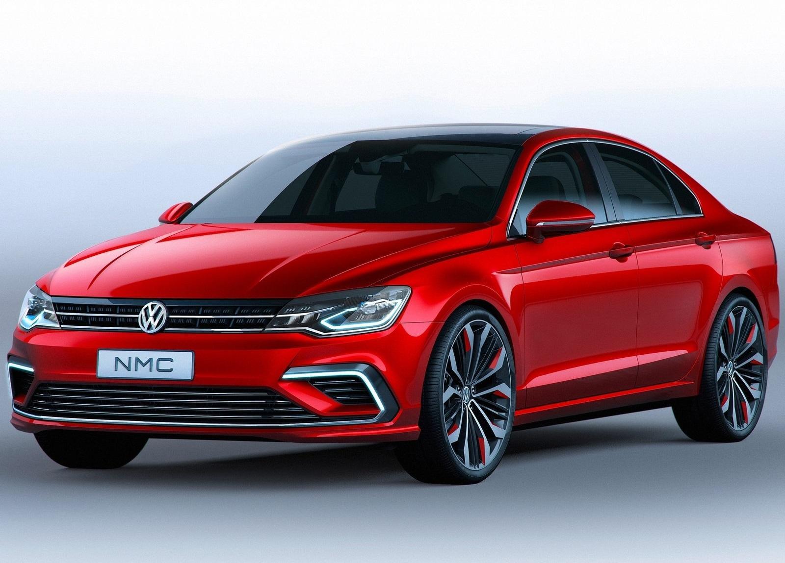 Volkswagen nmc concept vs mercedes benz cla four door for Mercedes benz cla 2 door