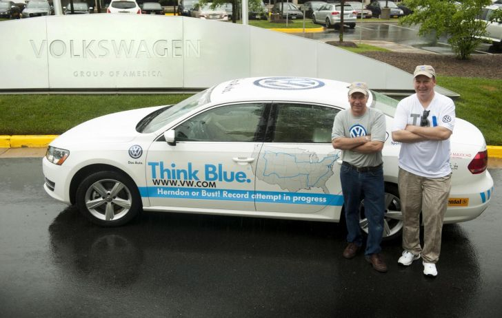 Volkswagen Passat TDI Attempts to Set World Record for Fuel Economy