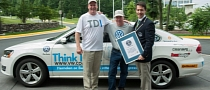 Volkswagen Passat TDI Sets 78 MPG World Record for Fuel Economy