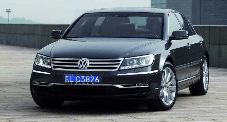 Volkswagen Phaeton Receives Premium Package Autoevolution