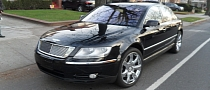 Volkswagen Phaeton Tries to Become a Bentley, Fails [Photo Gallery]