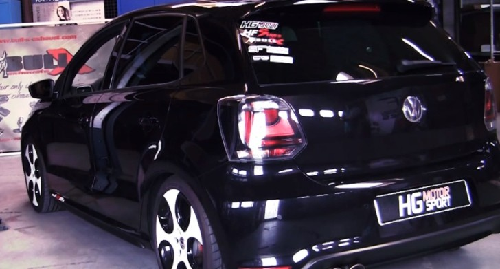 Volkswagen Polo GTI Gets Bull-X Exhaust [Video]