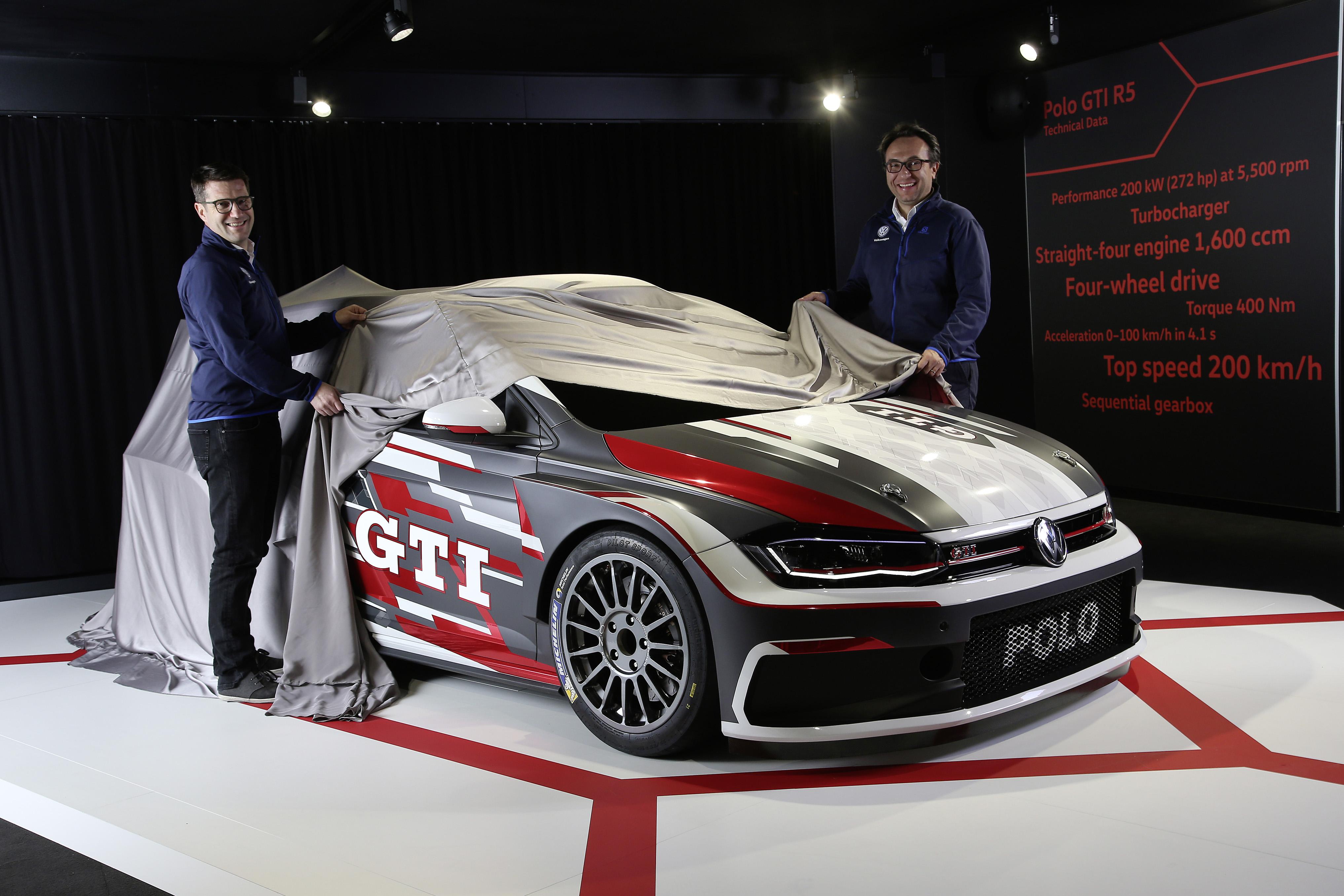 Volkswagen Polo Gti R5 Customer Race Car Unveiled Autoevolution