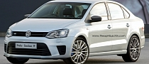 Volkswagen Polo R Rendered as Sedan