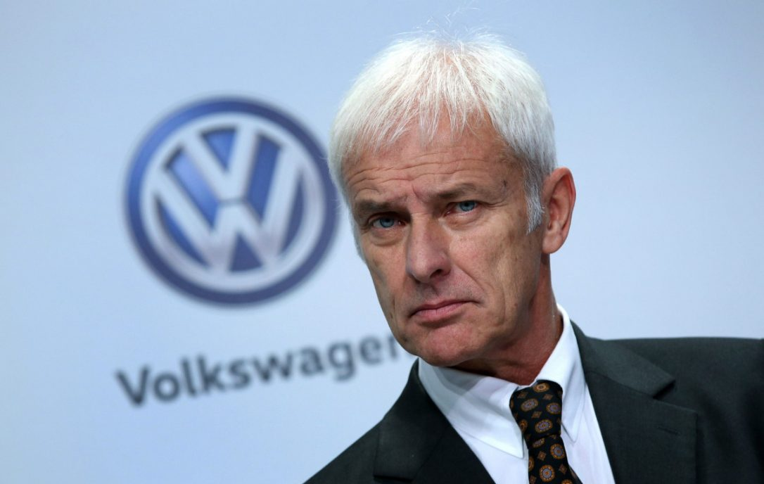 Volkswagen ousts CEO in management shakeup