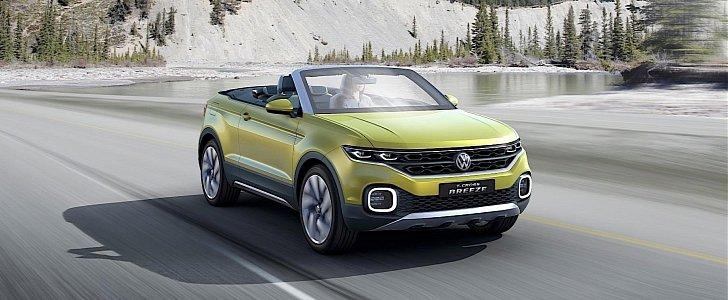 Volkswagen Reveals T-Cross Breeze Concept, It's a Convertible SUV - autoevolution