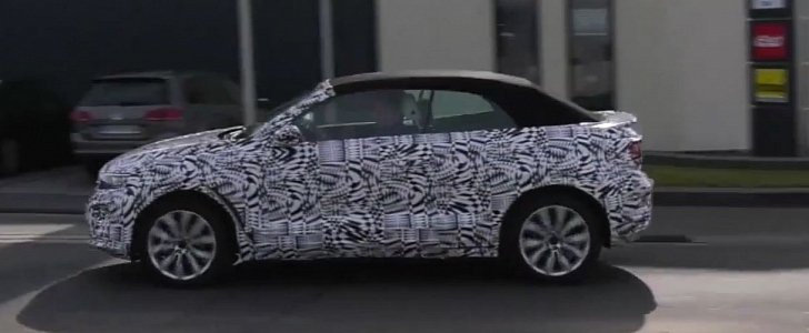 Volkswagen T-Roc Cabrio Filmed Testing in Germany, Is the New Picnic Basked