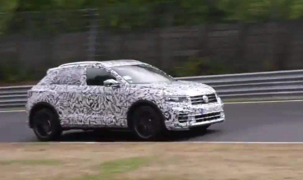 Volkswagen T Roc R Makes Hot Hatch Sounds At The Nurburgring