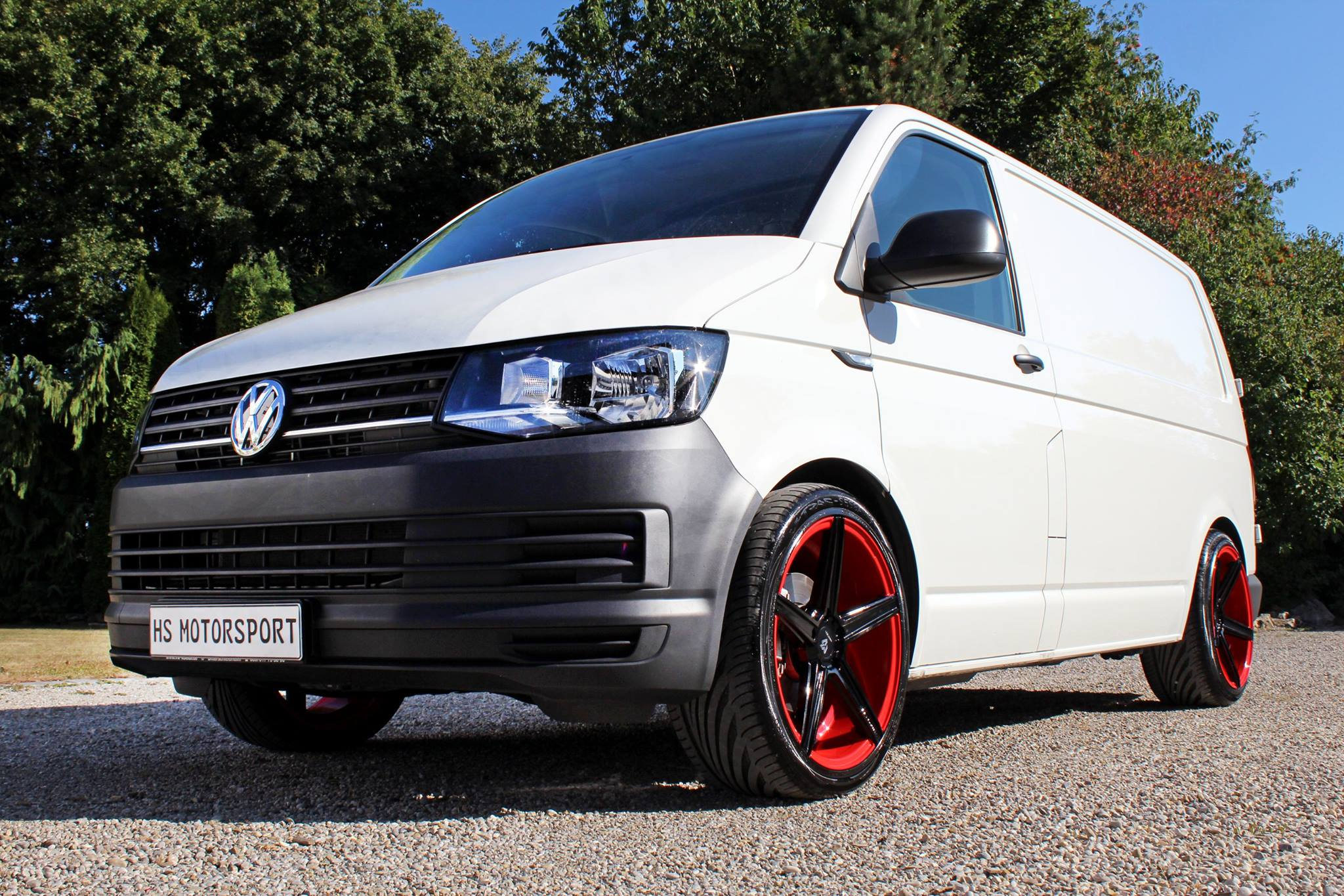 Volkswagen T6 Transporter 2 0 Tdi Tuned By Hs Motorsport