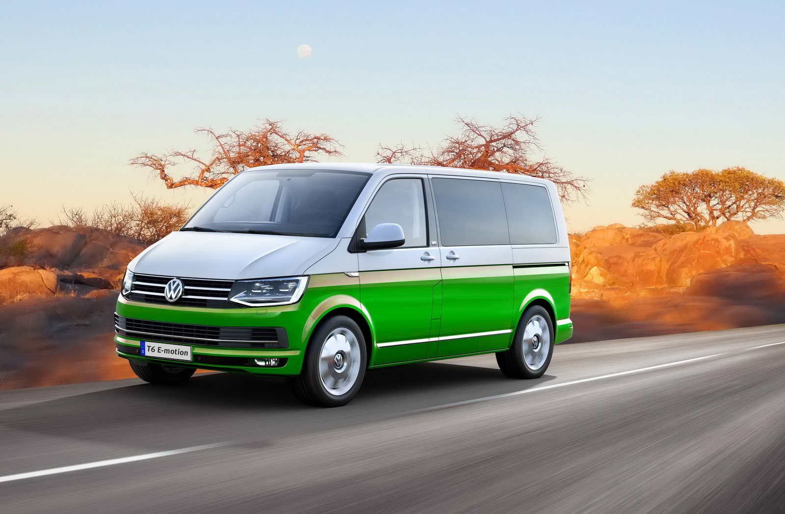 Volkswagen T6 Tuned Into Sel Hybrid With 1100 Nm By Mtm