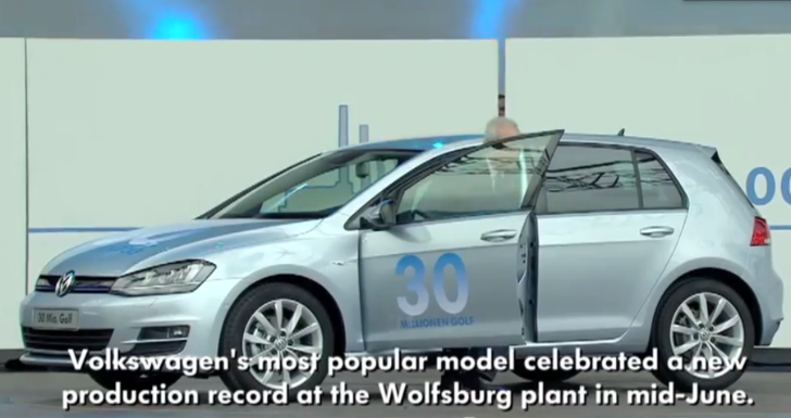 Volkswagen Tells the Story of 30 Million Golfs [Video]