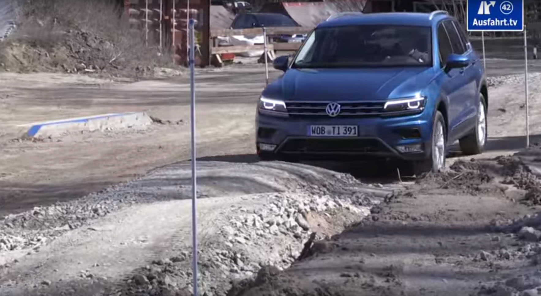 Volkswagen Tiguan's Abilities Are Put to the Test over Off ...