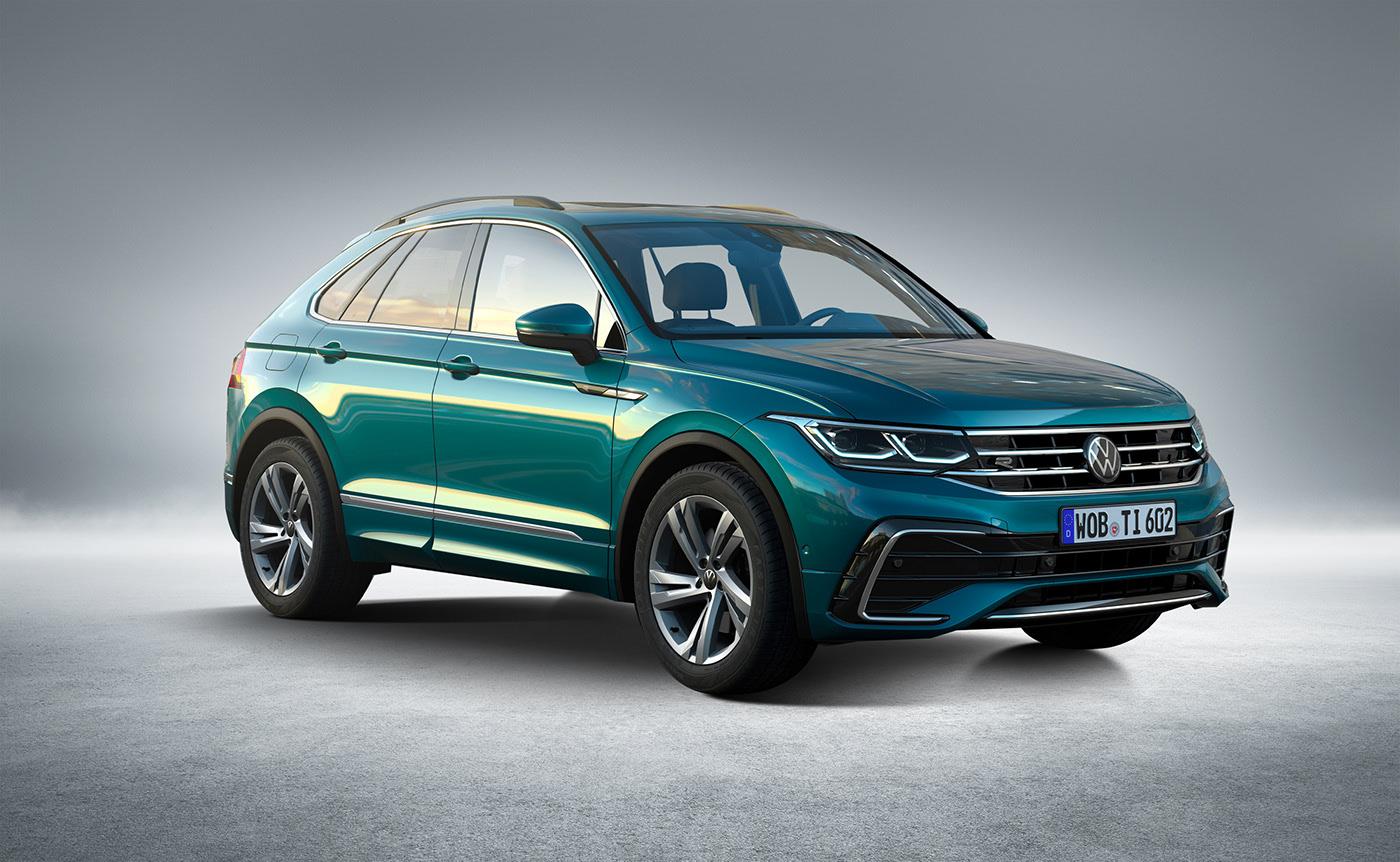 Volkswagen Tiguan X Crossover Coupe Rendered Doesn T Look Half Bad Autoevolution