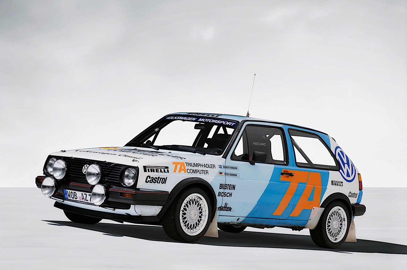 Volkswagen To Enter Zell Am See Ice Race With Polo Gti R5 And Mk2 Pikespeak Autoevolution
