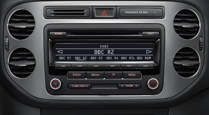 Volkswagen UK: Standard DAB Radio from Polo to Phaeton