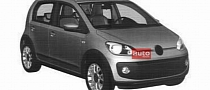 Volkswagen Up! Five-Door Leaked via Patent Images