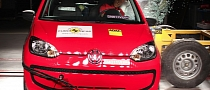 Volkswagen Up! Gets 5-Star Euro NCAP Rating
