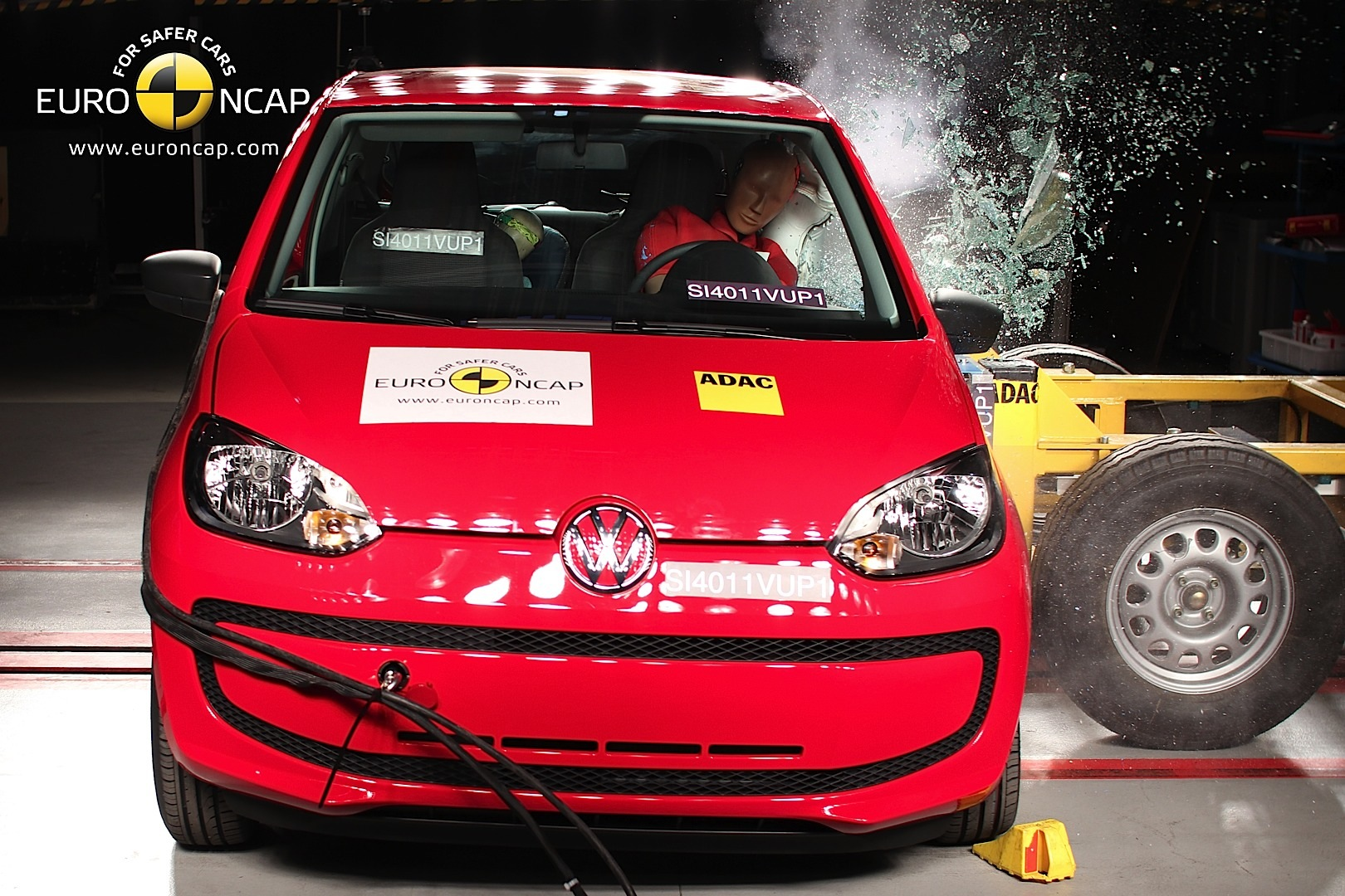 Volkswagen Up Gets 5 Star Euro Ncap Rating Autoevolution