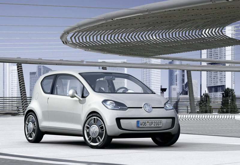 Volkswagen Up to Spawn Skoda Small Car - autoevolution