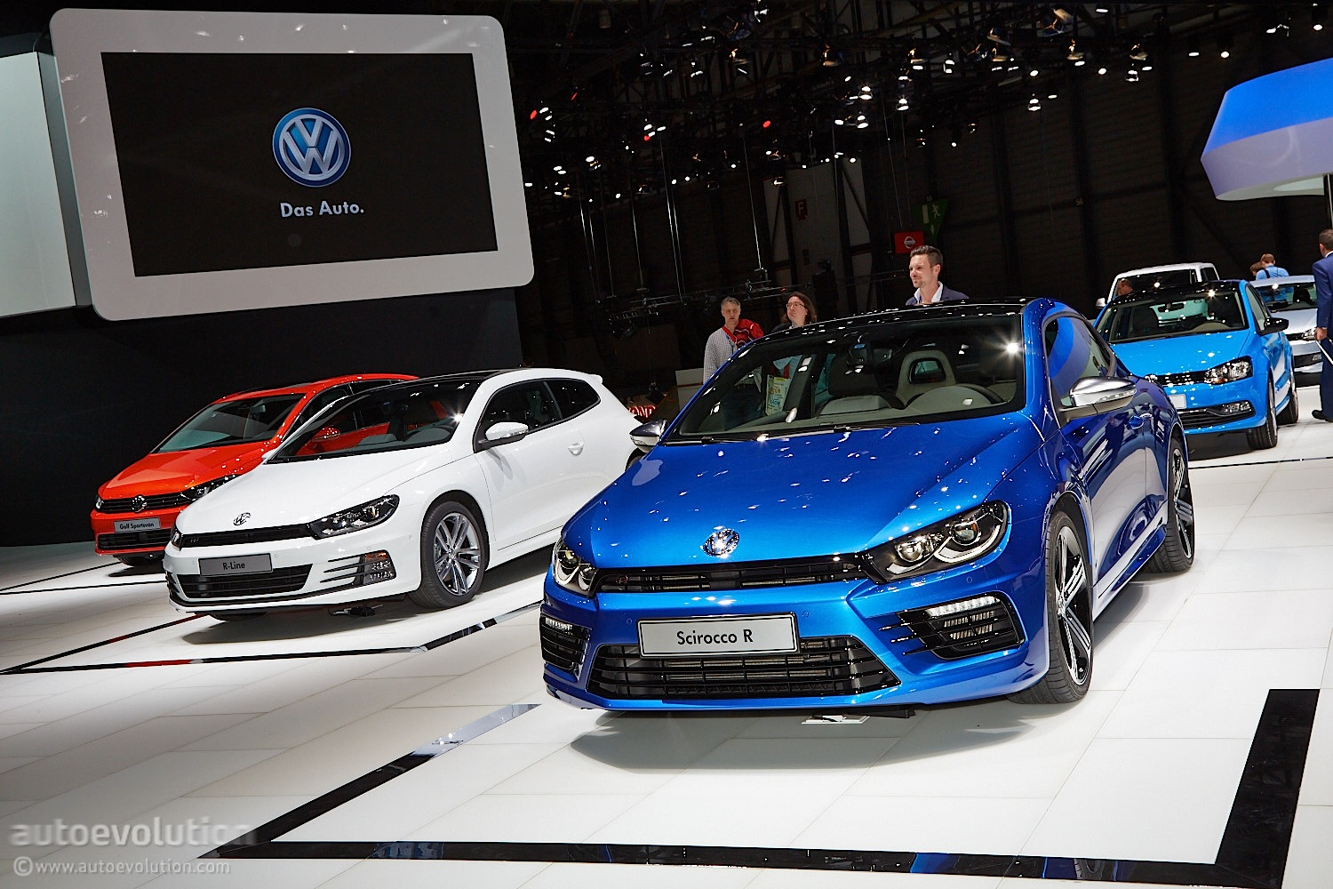 Volkswagen working on 300 hp electric scirocco coupe