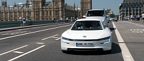 Volkswagen XL1 Hybrid Visits London [Video] [Photo Gallery]