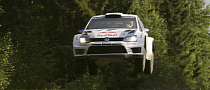 Volkswagen's Ogier Leads Rally Finland in His Polo
