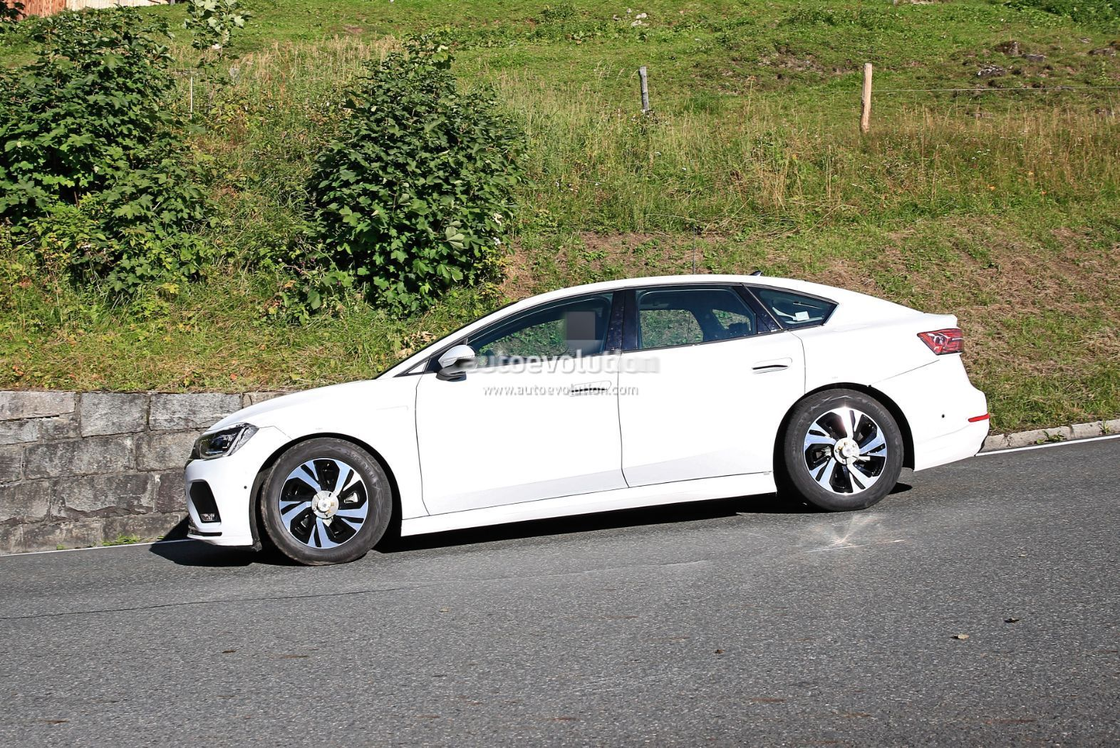 Volkswagen's Tesla Model 3 Rival Begins Public Testing With 435 Miles Range