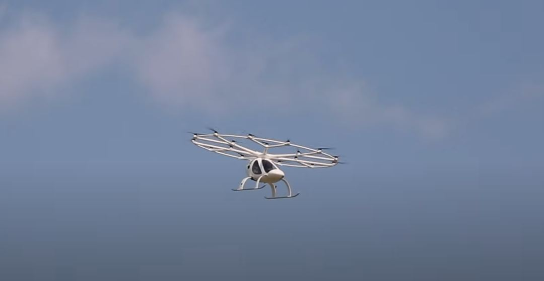 Volocopter 2X Is the First eVTOL to Perform a Manned Flight in the U.S. - autoevolution