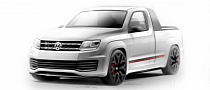 Volkswagen Amarok R-Style Concept Coming to Worthersee
