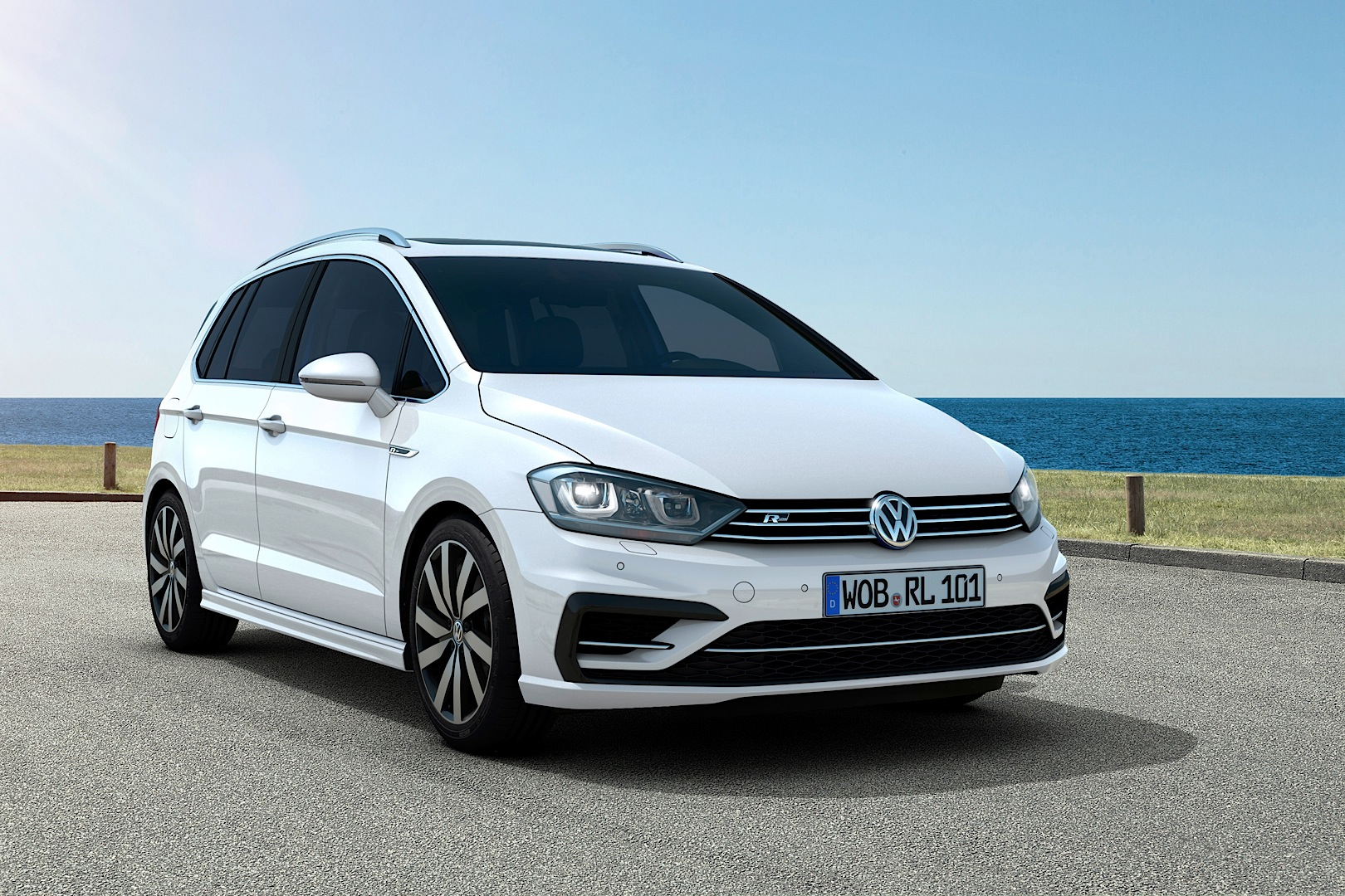 Audi Buy Now Pay In 2019 >> Volskwagen Golf Sportsvan Gets R-Line Package for the Exterior and Interior - autoevolution