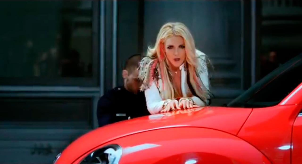 Volkswagen Beetle Featured in Britney Spears I Wanna Go Video