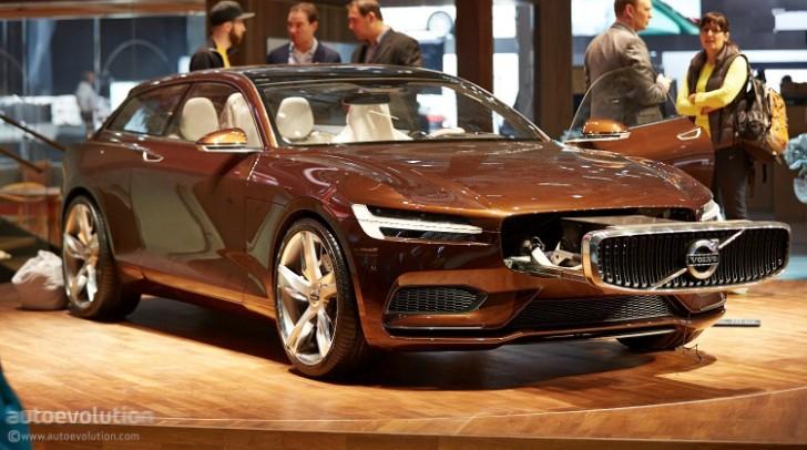 Volvo Concept Estate Is The Future At Geneva Live Photos