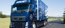 Volvo FH Diesel Trucks Use Bio-DME Fuel