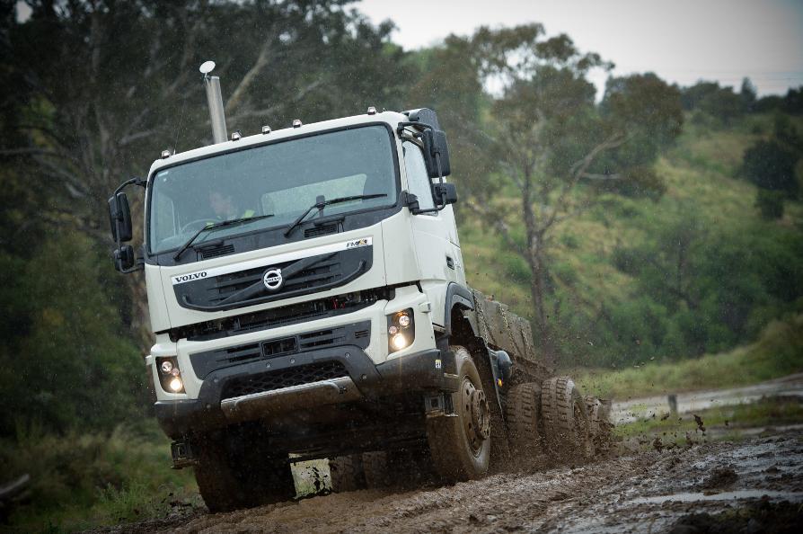 Volvo FMX Launched in Australia - autoevolution