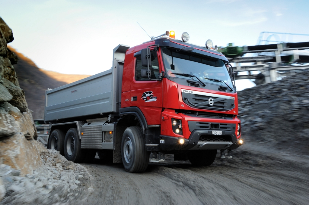 Unity Auto Sales >> Volvo FMX Used in World's Longest Tunnel Construction ...